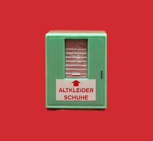 Rietze 70259 Altkleidercontainer (3 Stück), 1:87