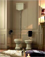 Stand-WC Retro 1010 senkrechter Abgang Komplettangebot mit WC-Sitz Antikbad