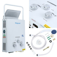 6L Propane Gas LPG Portable Tankless Hot Water Heater Outdoor RV's & Campers US
