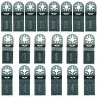 20 x Mix Blades for Fein Multimaster Bosch Ryobi Challenge Multitool Multi Tool