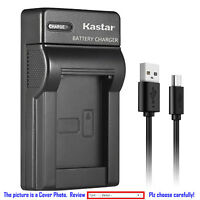 Kastar Battery Slim Charger for Canon BP-727 CG-700 Canon VIXIA HF R700 Camera