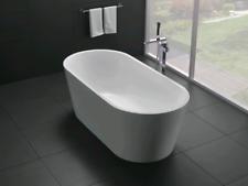 1500x750x580MM MODERN DESIGN OVAL ROUND FREESTANDING ACRYLIC BATH TUB