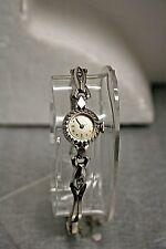 Vintage 14K White Gold Bulova 17 Jewel Ladies Watch