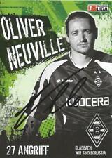 Oliver Neuville - Borussia Mönchengladbach - Saison 2005/2006 -Autogrammkarte