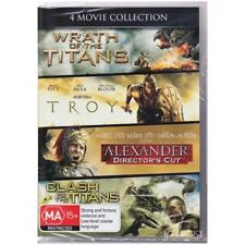 DVD 4 MOVIE COLLECTION WRATH/CLASH OF THE TITANS/TROY/ALEXANDER 4-Discs R4 [BNS]
