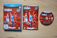 Wii U - NBA 2K13 - (OVP, mit Anleitung)