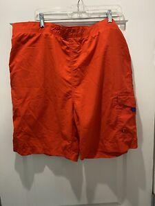 Polo Ralph Lauren Swim Trunks Stretch Swimming Shorts Pockets Zipper XL
