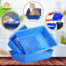 2017 Cat Seft Cleaning Litter Box - 3 Part Per System Cleaning Sifting Pet