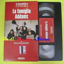 film VHS LA FAMIGLIA ADDAMS Barry Sonnenfeld LA REPUBBLICA CINEMA (F70*) no dvd