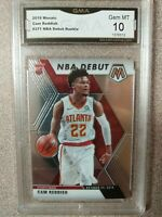 2019-2020 Mosaic Cam Reddish NBA Debut Rookie Card #271 GMA 10 GEM MT Hawks RC