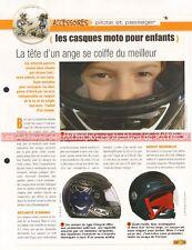 Accessoire Equipement : Les casques pour enfants Joe Bar Team Fiche Moto #000053