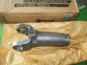 NOS Mopar 1961-86 Dodge Truck Powerwagon Power Ram Sliding Driveshaft Yoke