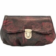 Paul Smith Clutch Bag Carly Black Rose