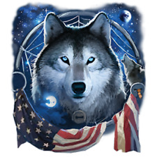 Wolf Dream Flag Tote