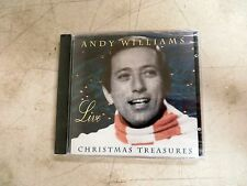 Andy Williams Live: Christmas Treasures by Andy Williams CD, Sep-2003 Neon Tonic