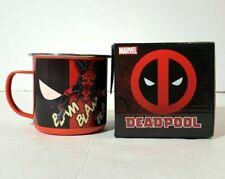 Marvel Licensed Collectible Comics 12 oz Deadpool Enamel Mug