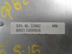 Engine ECM Electronic Spark Control 6-262 Fits 85-95 CHEVROLET 20 VAN 629693