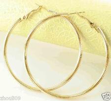 HOT New 9k Gold Filled Fashion Stylish Lady Ear Stud Hoop Earring 469