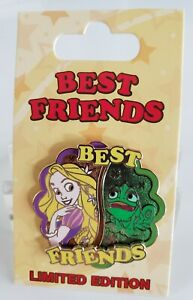 DISNEY RAPUNZEL & PASCAL BEST FRIENDS last in series 12TH LE PIN-FREE SHIPPING!