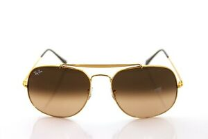 NEW Ray Ban General Gold Bronze Copper Pink Brown Gradient RB3561 9001/A5