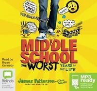 The Worst Years Of My Life | Audio Book CD | by James Patterson | MP3 Ready