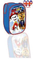 Paw Patrol Kids POP-UP Laundry Basket,Toys Storage,Official Licensed.