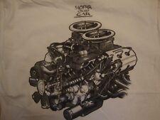 Mopar Collector's Guide Auto Parts White T Shirt Size L