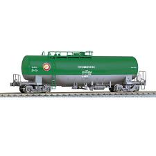 Kato 1-824 Taki 1000 Japan Oil Transport ENEOS Tank Car (green/gray) - HO