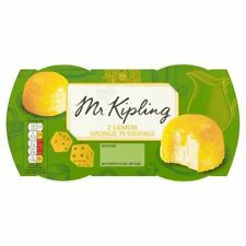Mr Kipling Exceedingly Good Lemon Sponge Puddings 2 x 85g
