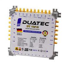 Duatec Multischalter 9/12 Switch FULL HD 3D 4K UHD 12 Teilnehmer SAT Verteiler