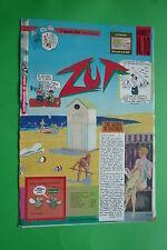 ZUT Anno I° n.10 Giugno 1987 Settimanale di satira ANDREA PAZIENZA VINCINO VAURO