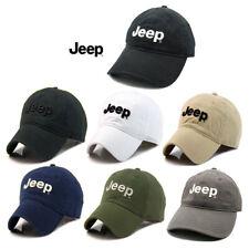 Jeep Hat Cap Women Men Unisex baseball Golf Ball Sport cap