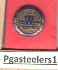 (pgasteelers1) Westinghouse Electric & Mfg. Corporation 15 Years service  pin
