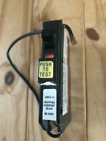 SQUARE D QOH RCDX30 15 AMP 30mA TYPE 4 M5 RCBO CIRCUIT BREAKER.