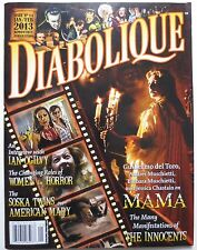 DIABOLIQUE MAGAZINE # 14 2013 HORROR WOMEN IN HORROR AMERICAN MARY MAMA (M485)