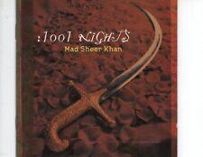 CD MAD SHEER KHAN1001 nightsNEAR MINT(R0743)