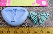 Moule Silicone papillon bleu (Fimo, résine, pâte à sucre,porcelaine froide)