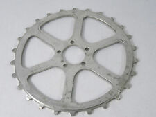 "T.A. SkipTooth Track Chainring 26T 3/16"""" Duralumin Old Logo Bike Pista NOS"