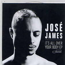 JOSE JAMES - rare CD Single - Europe - Acetate