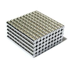 "500pcs 3/16"" x 3/16"" Cylinder 5x5mm Neodymium Magnets Refrigerator Permanent N35"