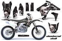 Dirt Bike Graphics Kit MX Decal Sticker Wrap For Suzuki DRZ400 2007 CHECKER S K