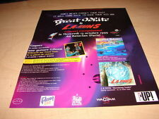 GREAT WHITE - IN CONCERT!!!!!!!!!!!!FRENCH PRESS ADVERT