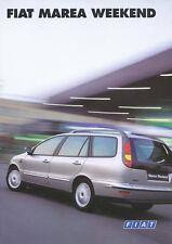 FIAT MAREA Weekend auto PROSPEKT 02.2.7872.50 prospetto brochure auto macchine fuoristrada Italia