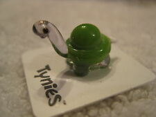 DOV TURTLE GREEN animal TYNIES Tiny Glass Figure Figurines Collectibles NEW 009