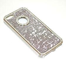 COVER iPhone 5 G custodia case slim rigida strass brillantini idea regalo