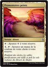 MTG Magic AKH - (x4) Painted Bluffs/Promontoires peints, French/VF
