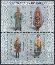 Costuemes Uzbekistan Usbekistan 2016 MNH** Mi. Uzbek National Clothes