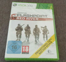Microsoft Xbox 360 Game Operation Flashpoint Red River New Sealed Promo Version