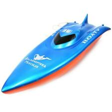 Azimport B18 Red Blue 23 in. Balaenoptera Musculus Racing Boat Toy - Red & Blue