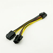PCI-E 8 Pin to 2xPCIe 6 Pin Graphics Video Card Power PCI Express Splitter Cable